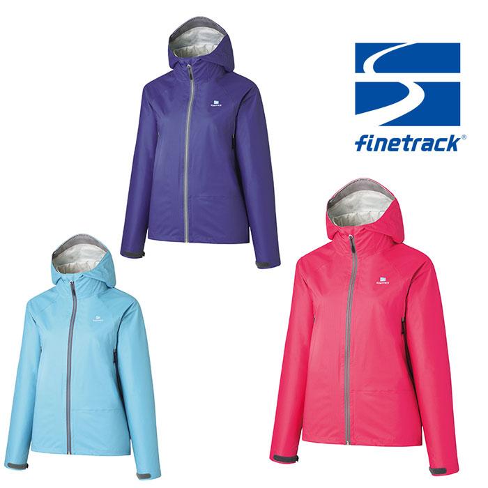 ファイントラック ジャケット レディース/女性用 FAW0801 エバーブレスレグンジャケット ストレッチレインウェア 雨具 アウターシェル レインジャケット
