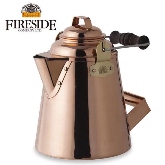 ファイヤーサイド やかん fireside12113 グランマーコッパーケトル(小) GRANDMA'S Copper Kettle 銅製ケトル ヤカン 銅製ポット