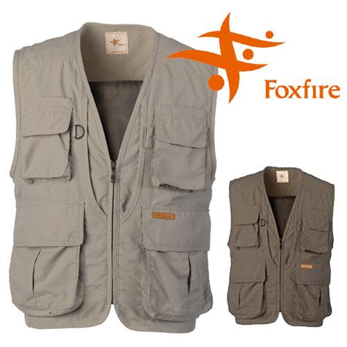 フォックスファイヤー サプレックスガイドベストII FXF5610055 メンズ/男性用 カーキ チャコール 2019年春夏