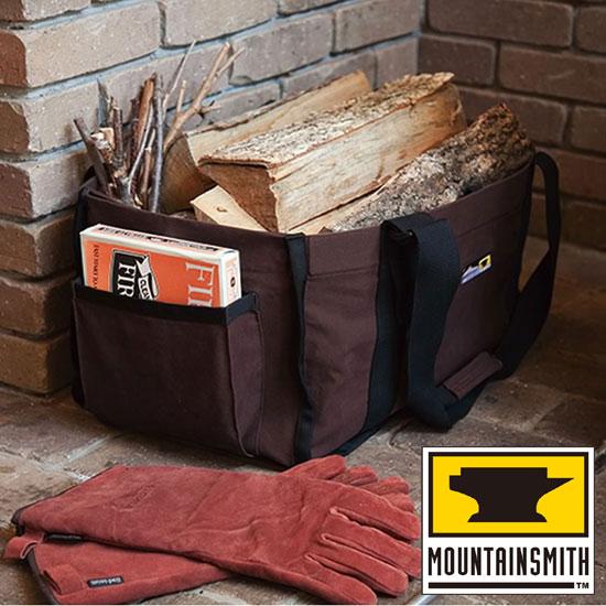 マウンテンスミス バッグ MTH27917 ファイヤーサイドログキャリー Fireside Log Carry ログキャリアー 薪用バッグ ギアバッグ コンテナバッグ 焚き木用トートバッグ ファイヤーサイドオリジナル