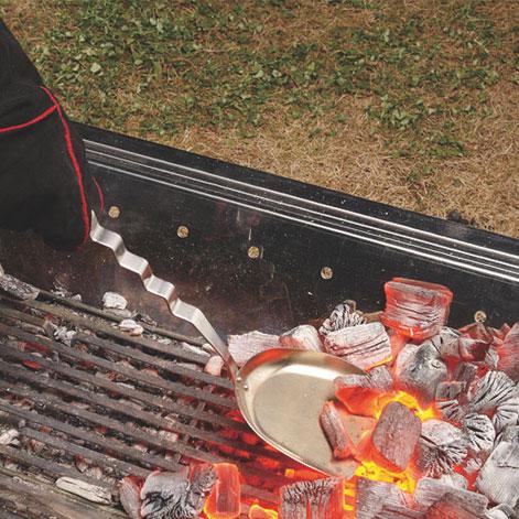 ユニフレーム スコップ UF665770 ウェーブ炭スコップ バーベキュー 木炭