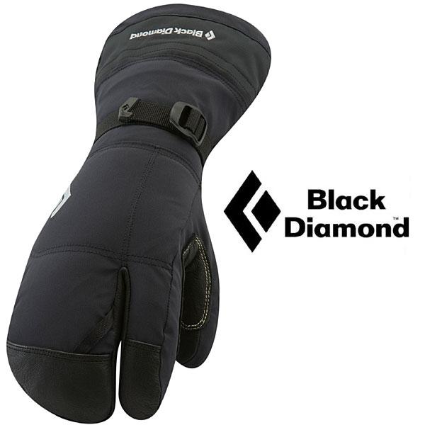 ブラックダイヤモンド グローブ BD73012(ブラック)ソロイスト フィンガー SOLOIST FINGER GLOVE 手袋 防水グローブ 冬山用グローブ 雪山用グローブ 男女兼用