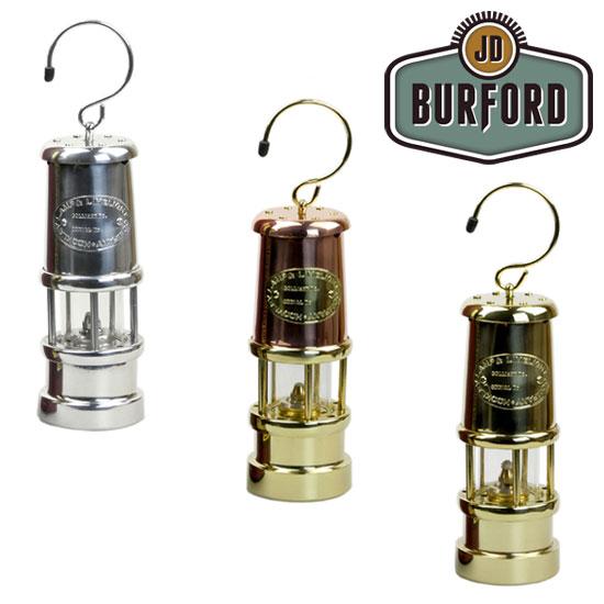 JDバーフォード マイナーズランプMサイズ JDBURFORD001 Miner's Lamp オールニッケル#N20 オールブラス#B11 カッパー&ブラス#C6