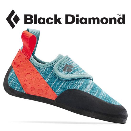[キャッシュレス5%還元対象]ブラックダイヤモンド モーメンタムキッズ BD25140 キッズ/子供用 クライミングシューズ MOMENTUM CLIMBING SHOES - KID'S カスピアン