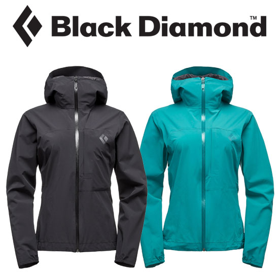 ブラックダイヤモンド Wsファインラインストレッチレインシェル BD61020 レディース/女性用 FINELINE STRETCH RAIN SHELL - WOMEN'S