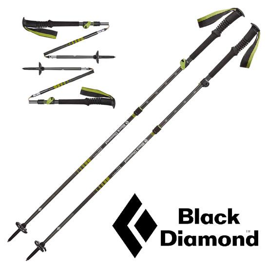 [キャッシュレス5%還元対象]ブラックダイヤモンド ディスタンスプラスFLZ BD82362 ストック DISTANCE PLUS FLZ TREKKING POLES