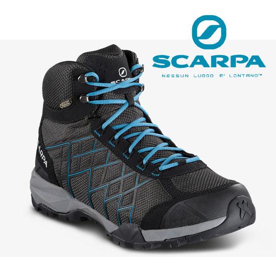 スカルパ ハイドロジェンハイクGTX SC22030 メンズ/男性用 登山靴 Hydrogen Hike Gtx ダークグレー/レイクブルー