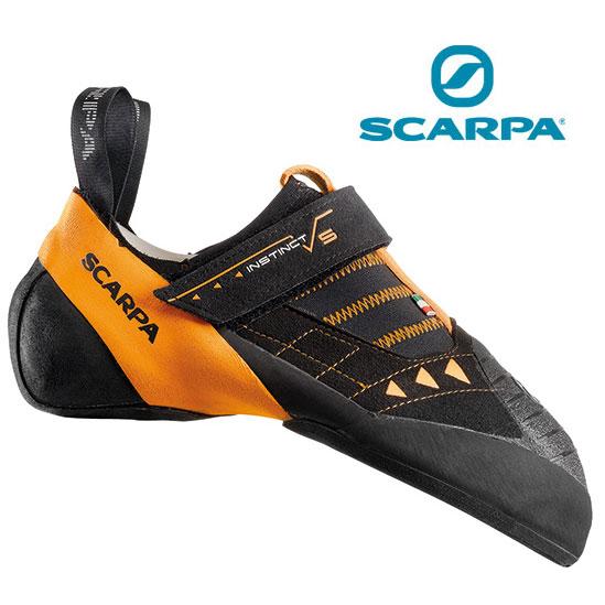 [キャッシュレス5%還元対象]スカルパ インスティンクト SC20140 (ブラック)インスティンクトVS 靴/クライミングシューズ ロッククライミング ボルダリングシューズ スタッフ写真付