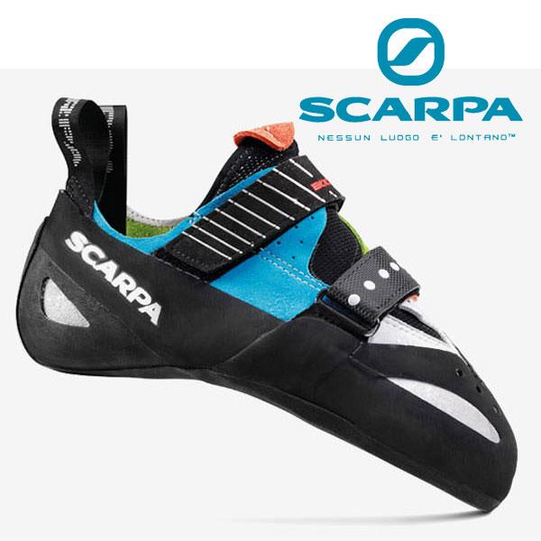 スカルパ クライミングシューズ SC20130(シアン/スプリング)ブースティック Boostic 靴/クライミングシューズ ロッククライミング用シューズ ボルダリングシューズ ユニセックス/男女兼用 ロストアロー正規取引店