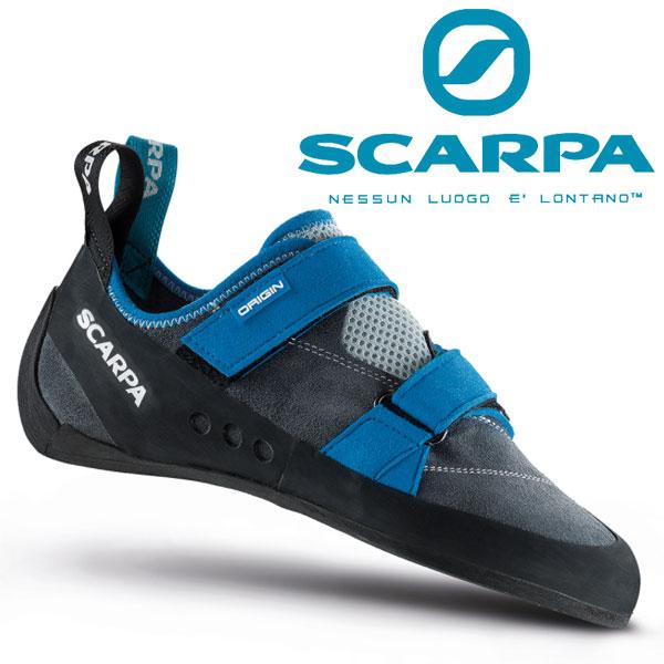 スカルパ オリジン SC20202 メンズ/男性用 クライミングシューズ ORIGIN アイアングレー