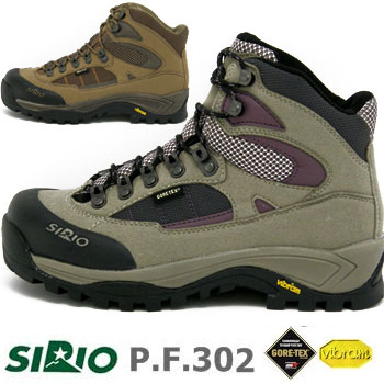 シリオ P.F.302 SIRIO302 CAFE BRN 22.5cm~25cm PF302 レディース/女性用