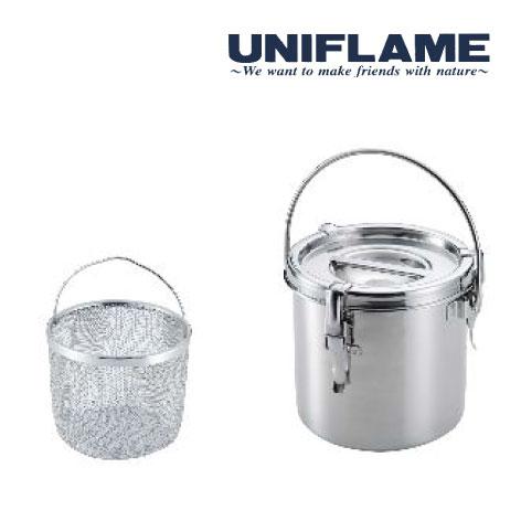 ユニフレーム 火消し壺 UF665763 火消し壺SUS 炭消火 炭リサイクル バーベキュー 焚き火
