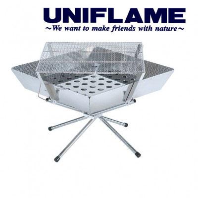 ユニフレーム ファイアグリル UF683071 ファイアグリル ラージ ファイヤグリル ファイヤーグリル ファイアーグリル 焚き火台 キャンプファイヤー バーベキュー/BBQグリル ダッチオーブン料理