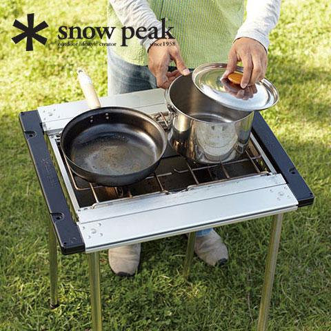 スノーピーク アイアングリルテーブル CK-170 アイアングリルテーブルフレーム ショート Iron Grill Table Frame Short ユニットシステム キッチン