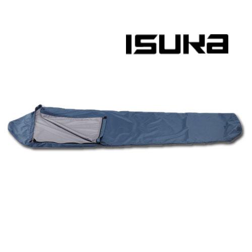 イスカ シュラフ カバー ISK2016(ネイビーブルー)ウェザーテックシュラフカバースーパーライト シュラフ用小物 寝袋用小物 寝具 スリーピングバッグ 春から秋の登山に