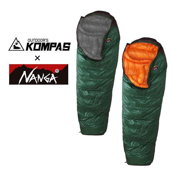 ナンガ NANGA×KOMPASオリジナルシュラフK-830DX NANGAKOMPAS021