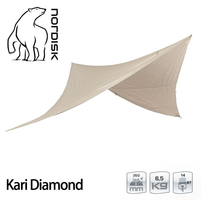 ノルディスク カーリダイヤモンド10 NORDISK142019 Kari Diamond 10JP タープ