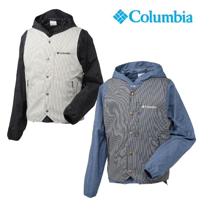 コロンビア ベスト メンズ/男性用 PM1193 リトルホッキングパスベスト Little Hocking Path Vest プルオーバー カジュアルウェア