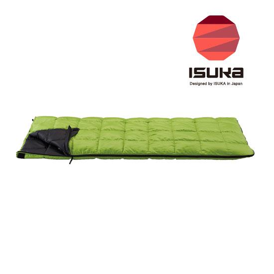 イスカ シュラフ ISK1392 ダウンプラス レクタ 200 DownPlus Recta 200 シュラフ 寝袋 寝具 スリーピングバッグ 封筒型