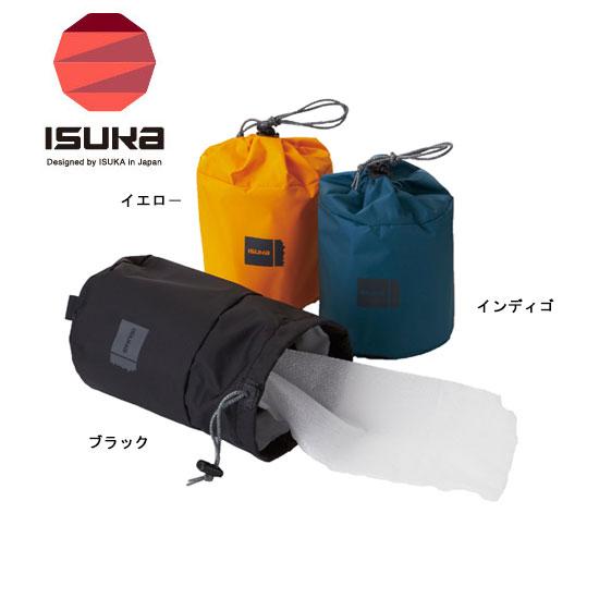 訳あり商品 ISUKA 無料サンプルOK 正規品 イスカ バッグ ISK3721 ロールペーパーケース Roll キャンプ Case Paper 登山 ゆうパケットOK ペーパーホルダー トイレットペーパー