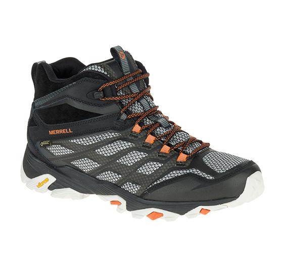 メレル モアブFSTミッドゴアテックス mmoabfstmidgtx メンズ/男性用 靴 MOAB FST MID GORE-TEX 35737BLACK