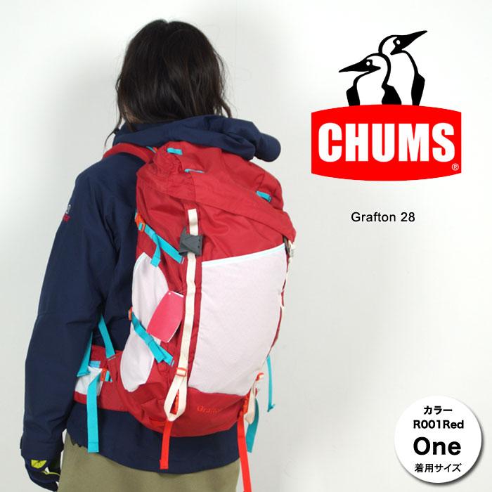 チャムス ザック CH60-2212 グラフトン28 Grafton 28 28L 登山用リュック 登山用バックパック トレッキングザック スタッフ写真付