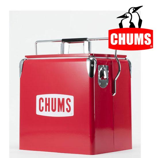 チャムス チャムススチールクーラーボックス CH62-1128 ハードクーラー CHUMS Steel Cooler Box