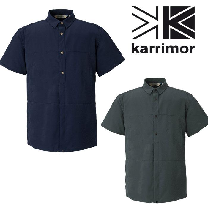 カリマー (Mens) S shirts 51309M182-Black (karrimor) DTA S/