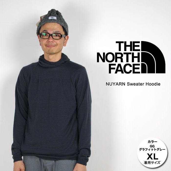 [最大2000円OFFクーポン配布中!8/9日1:59まで]ノースフェイス セーター メンズ/男性用 NT91603 ニューヤーンセーターフーディー NUYARN Sweater Hoodie セーター ニット カジュアルウェア スタッフ写真付