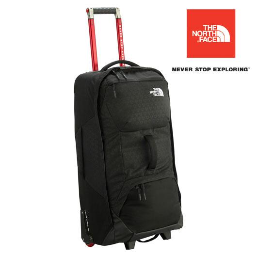 [エントリーで最大P4倍!11/19月9:59まで]ノースフェイス キャリーバッグ NM81655(BEブラックエンボス)ロングホール30インチ Longhaul30 79L 旅行バッグ