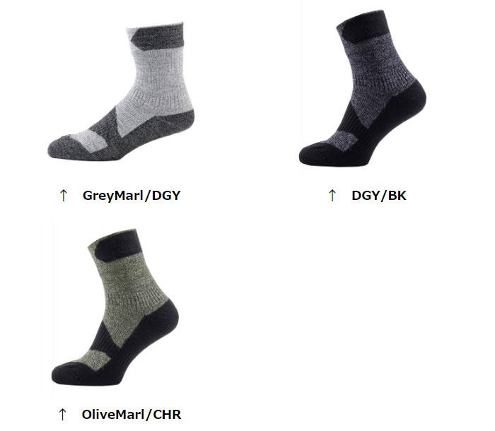 シールスキンズ 靴下 SSKINZ111161702 ウォーキングシンアンクル Walking Thin Ankle アウトドアソックス スポーツソックス ウォーキング トレッキング