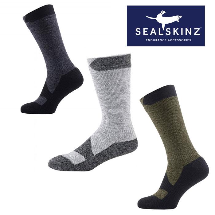 シールスキンズ 靴下 SSKINZ111161703 ウォーキングシンミッド アウトドアソックス スポーツソックス ウォーキング トレッキング