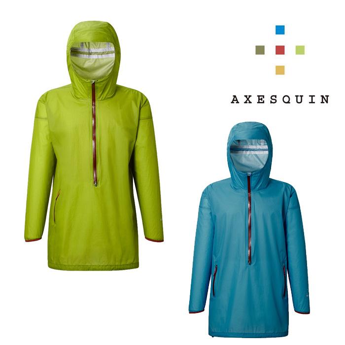 アクシーズクイン レイン メンズ/男性用 AXESRS1150 フリシキル レインジャケット プルオーバー 防水ジャケット レインコート