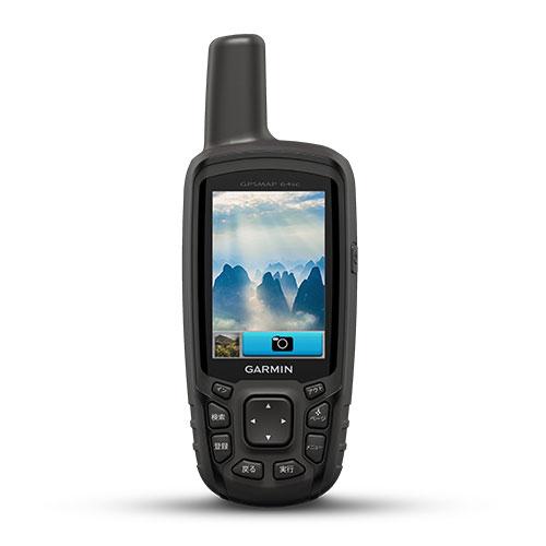 ガーミン GPS GMN010-01199-36 GPSMAP 64sc J GPSMAP 64sc J日本版 ハンディ GPS ナビ 1/20万全国概略道路地図 三軸コンパス GPS端末