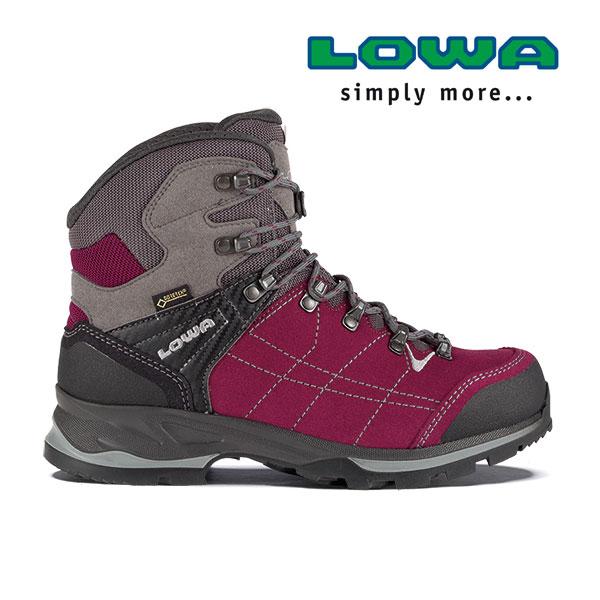 ローバー バンテージGT WXLウィメンズ lowaL020699 レディース/女性用 登山靴 VANTAGE GTX WXL 0351ベリー×グレー