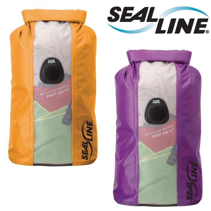 シールライン スタッフバッグ SLNbhvdb10 バルクヘッドビュードライバッグ10L Bulkhead View Dry Bag 防水バッグ カヤック
