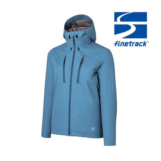 ファイントラック ジャケット レディース/女性用 FAW0902 フロウラップフーディ ミッドシェル スポーツジャケット 防風 アウタージャケット