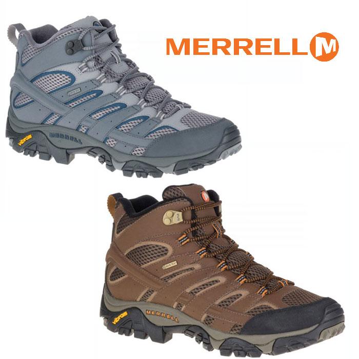 メレル 靴 mmoab2midgtx モアブ 2 ミッド ゴアテックス MOAB 2 MID GORE-TEX メンズ/男性用 ミッドカット ハイキングシューズ 登山