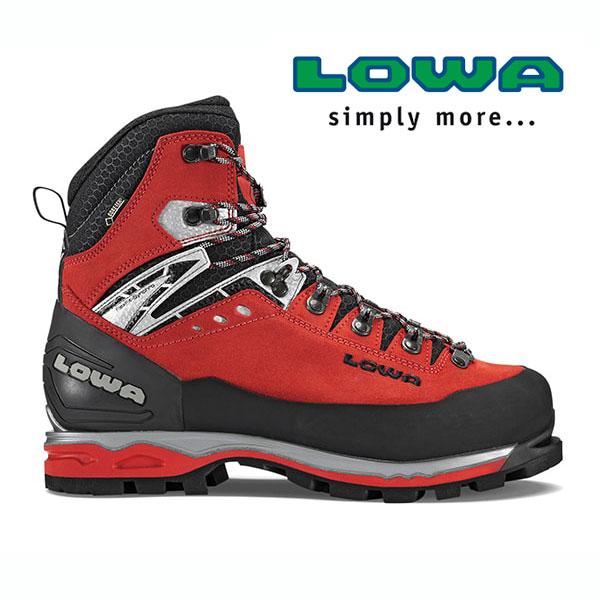 ローバー マウンテンエクスパートGT EVO lowaL210029 メンズ/男性用 登山靴 MOUNTAIN EXPERT GTX EVO レッド/ブラック