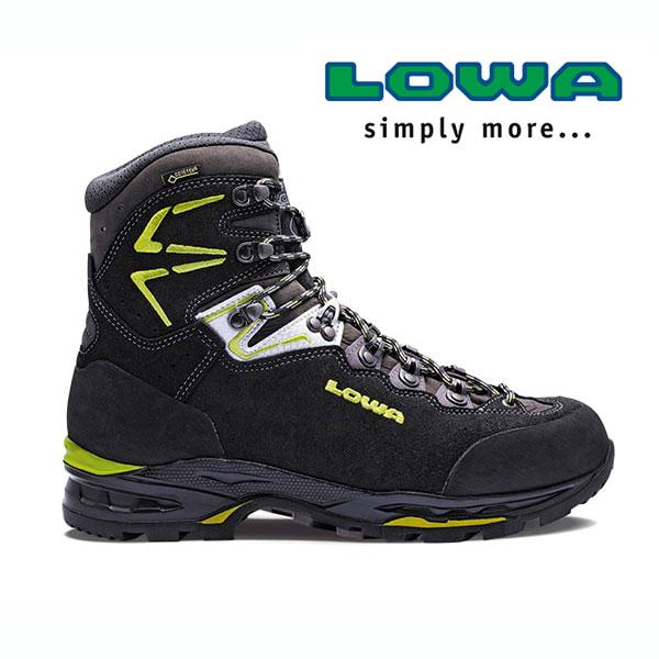 ローバー ティカムII GT WXL lowaL210693 メンズ/男性用 登山靴 TICAM II GT WXL 9974ブラック×グリーン