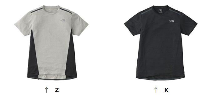 ノースフェイス ショートスリーブTNFRフラッシュティー NT11888 メンズ/男性用 Tシャツ S/S TNFR Flash Tee ※半期に一度のクリアランス
