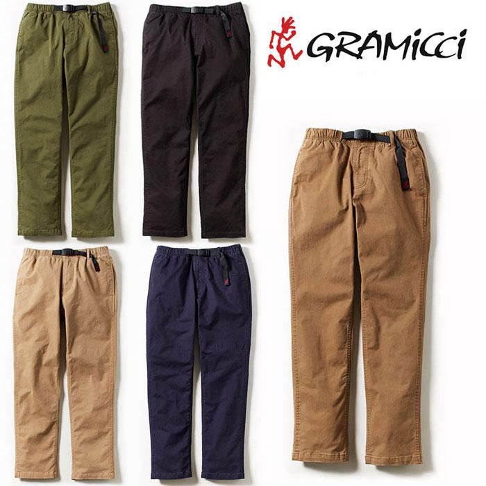 グラミチ NNパンツジャストカット 8817-FDJ メンズ/男性用 パンツ NN-PANTS JUST CUT