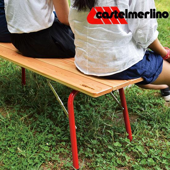 カステルメリーノ フォールディングウッドベンチ120×30 Cstlmrln20056 ベンチ FOLDING WOOD BENCH?120×30