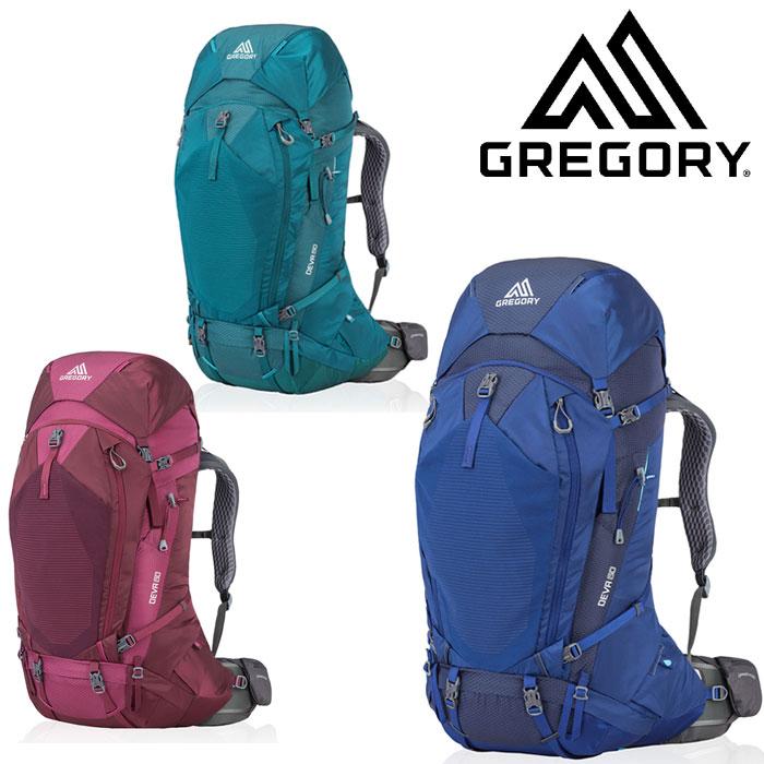 グレゴリー ディバ60 GREdeva60 レディース/女性用 ザック DEVA 60