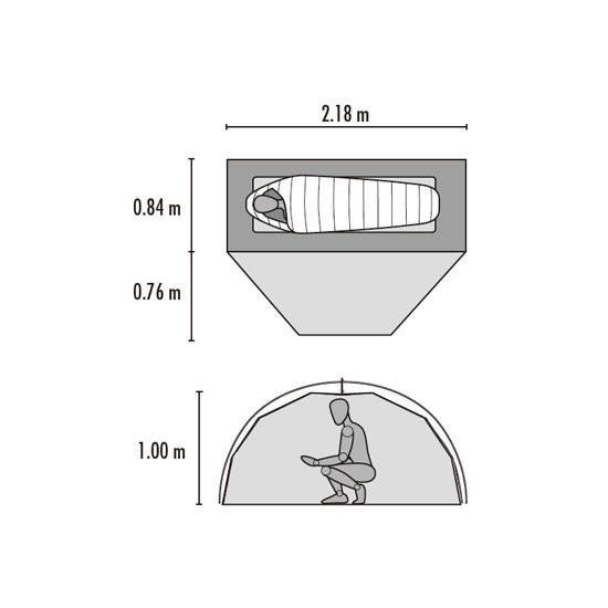 MSR エリクサー1 MSR37310  テント ELIXIR 1