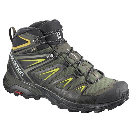 サロモン Xウルトラ3ワイドミッドゴアテックス SLMNxultra3wide メンズ/男性用 靴 X ULTRA 3 WIDE MID GTX