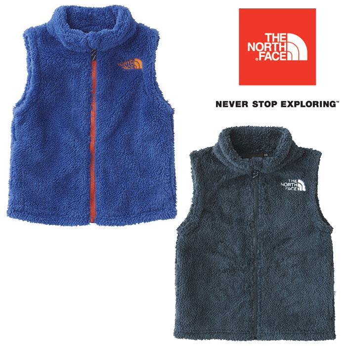 ノースフェイス シェルパフリースベスト NAJ71727 キッズ/子供用 フリース Sherpa Fleece Vest 2018年秋冬新作