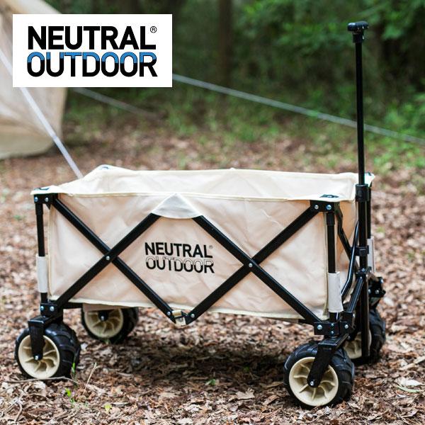 ニュートラルアウトドア オフロードキャリアワゴンII NEUTRALOD43648 NT-CW03 キャンプカート