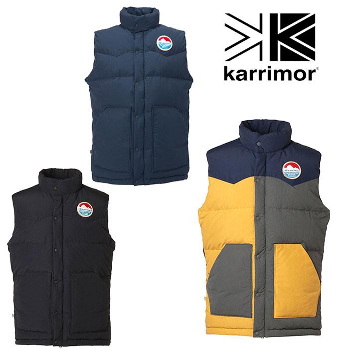 [キャッシュレス5%還元対象]カリマー イーデイ ダウン ベスト KRM2276 ユニセックス/男女兼用 ダウン eday down vest (unisex) ※半期に一度のクリアランス