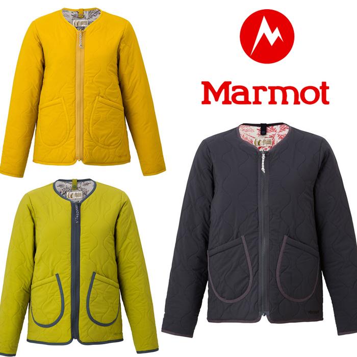 [キャッシュレス5%還元対象]マーモット ウィメンズ3Defxプラスリバーシブルパディングジャケット TOWMJL25YY レディース/女性用 ジャケット Ws 3DeFX+ Reversible Padding Jacket ※半期に一度のクリアランス